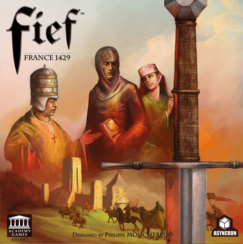 Fief France 1429 board game conquest game