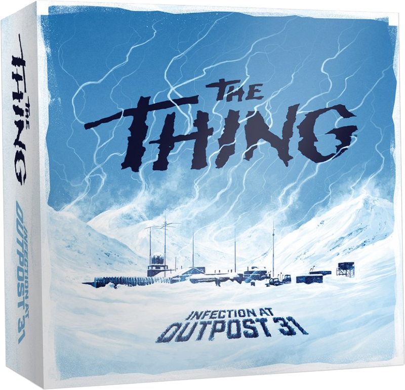 The Thing Infection Outpost 31 board game