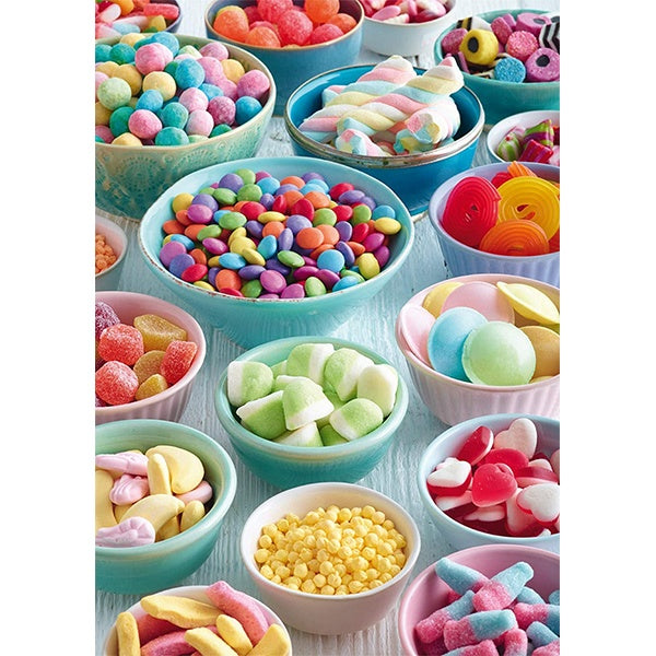 Sweet Temptations 500 piece puzzle image