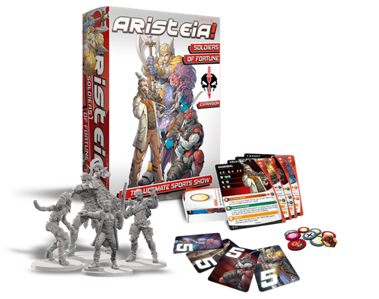 Soliders of Fortune Aristeia! expansion