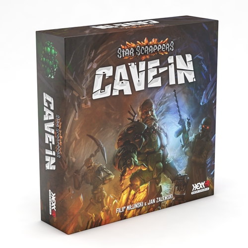 Star Scarpper Cave-in Box kickstarter