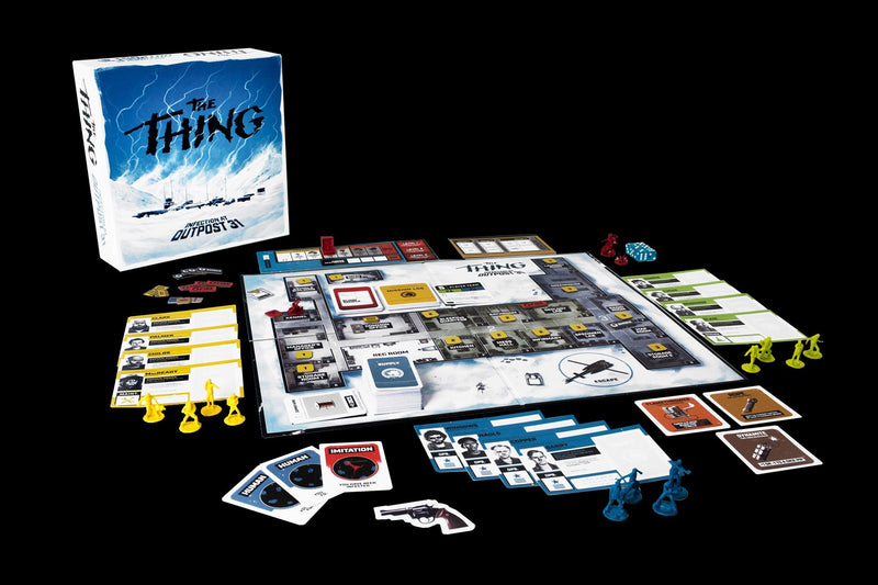 The Thing Infection Outpost 31 board game miniatures