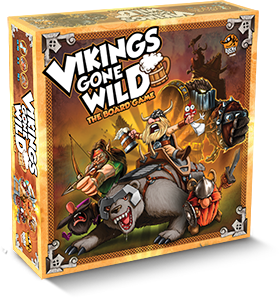 Vikings Gone Wild + Sif KS Promo Card - Retail Edition