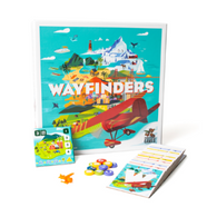 Wayfinders casual and family board game box