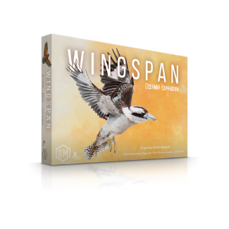 Wingspan Oceania expansion board game box