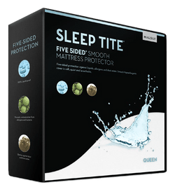 Five 5ided Smooth-Protector-Mattress Protector - Malouf-Town Sleep