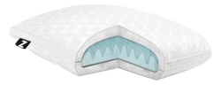 "Gel Convolution-Pillow-5""/7"" Plush - Malouf-Travel-Low-Town Sleep"