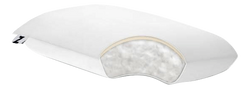"Gelled Microfiber + Memory Foam-Pillow-6"" - Malouf-Travel-Town Sleep"