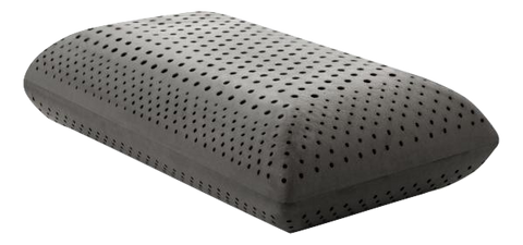 "Zoned Dough Bamboo Charcoal-Pillow-6""/7"" - Malouf-Queen-Mid-Town Sleep"