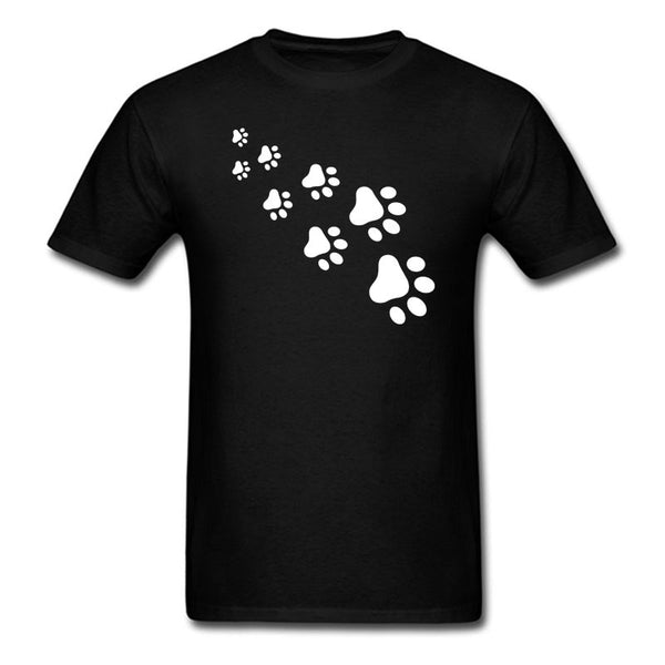 Summer Funny Tops Cat Paws T-shirt