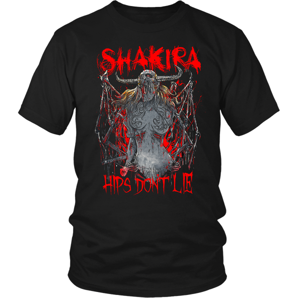 Hips Don't Lie Metal Shirt