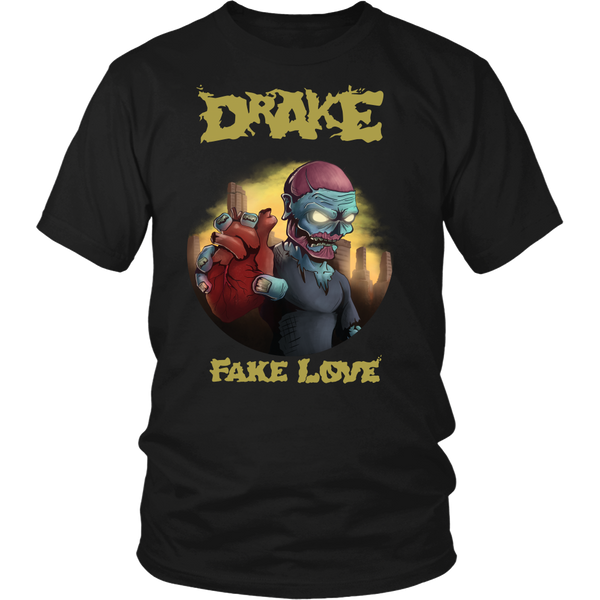 Fake Love Metal Shirt