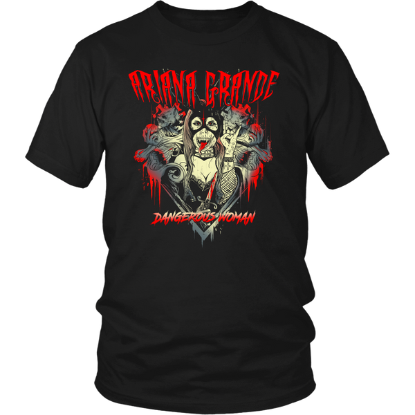 Dangerous Woman Metal Shirt (1)