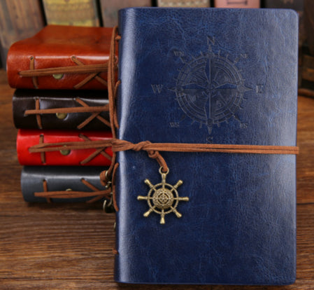 Vintage Leather Traveler's Notebook Diary