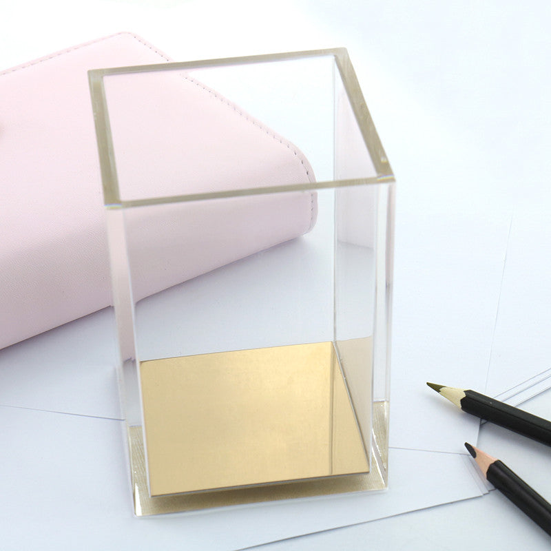 Rose Gold Luxury Pen & Pencil Holder