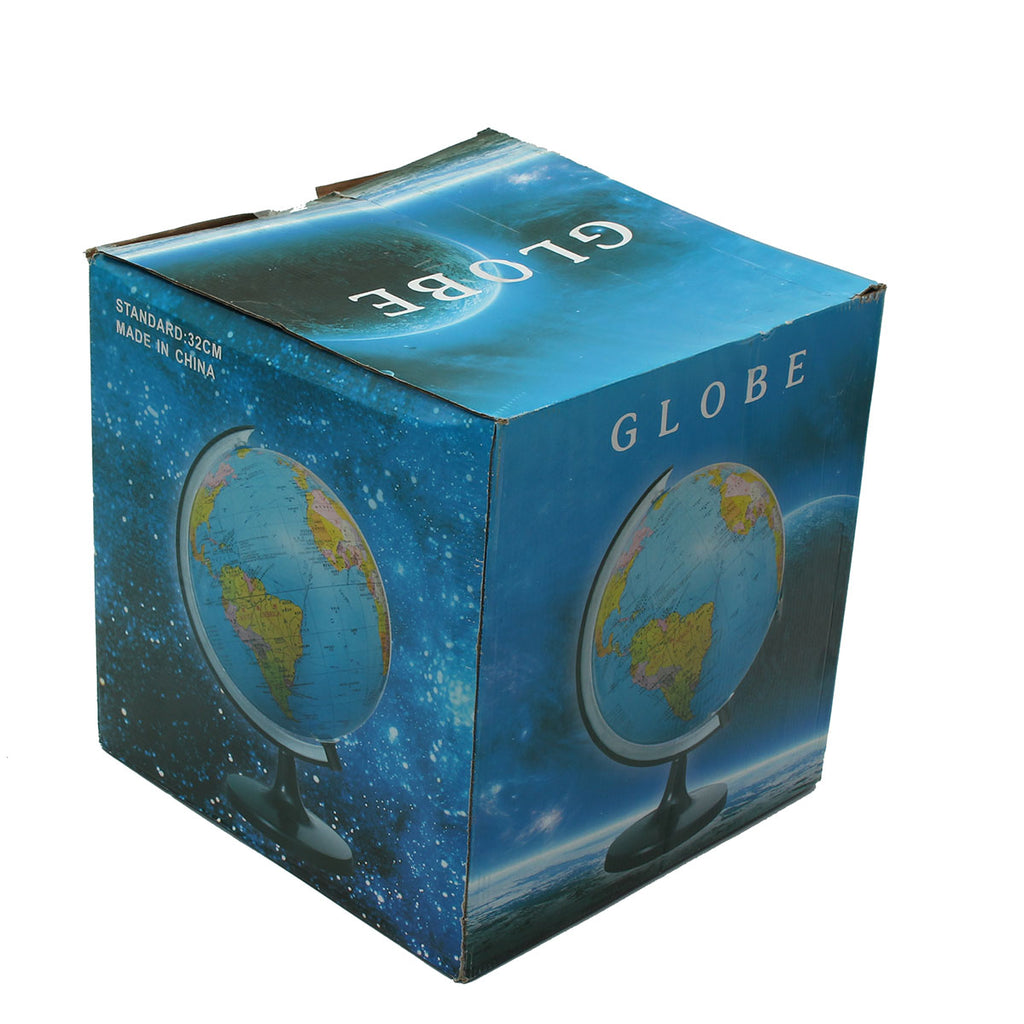 32cm Rotating World Earth Globe Atlas Map Geography Education