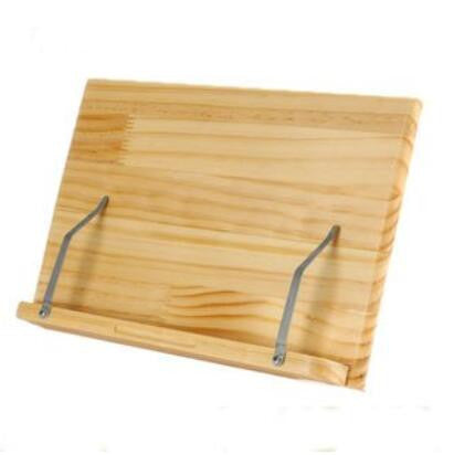 Wood Book Stand or laptop holder