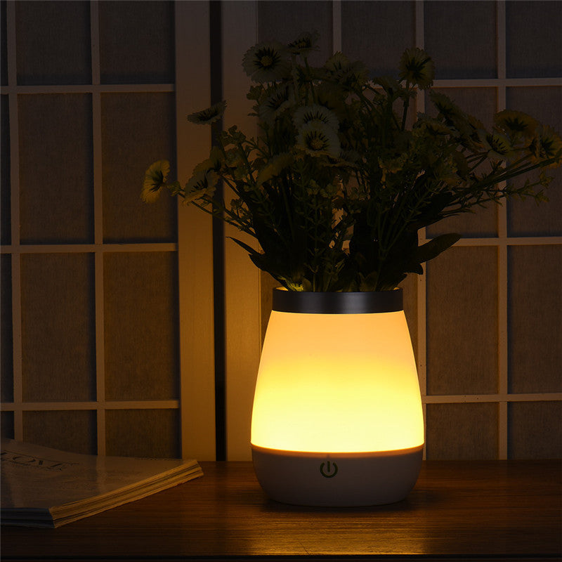 LED Rechargeable Vase Lamp