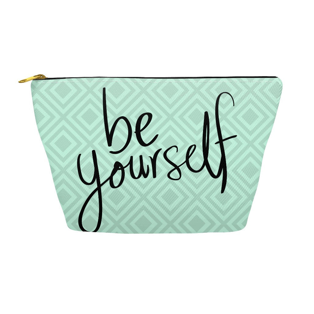 "Pencil Case and Accessory Pouch - ""Be Yourself"""