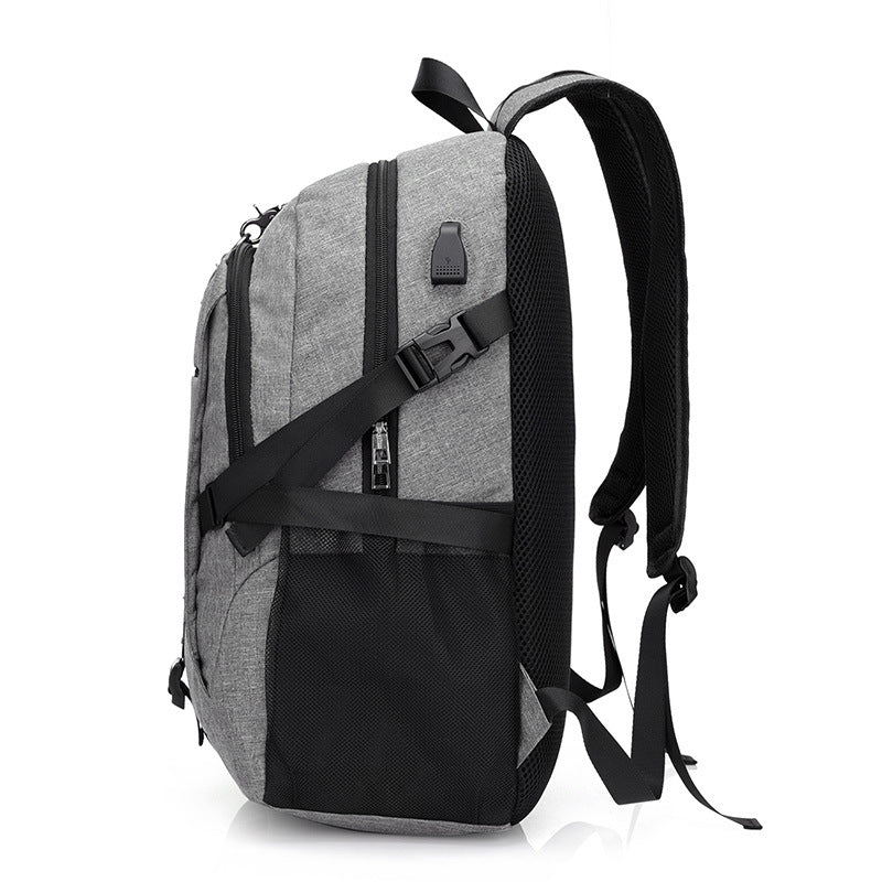 Oxford Multi-function USB charging Backpack