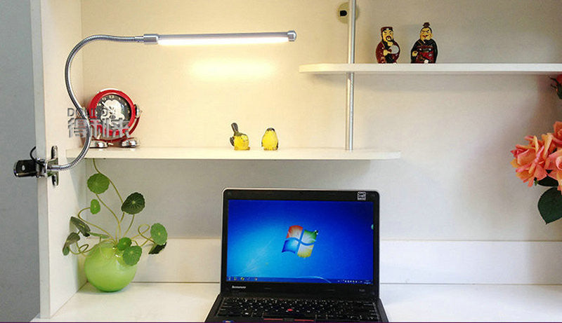 LED Reading Desk Lamp With Clip