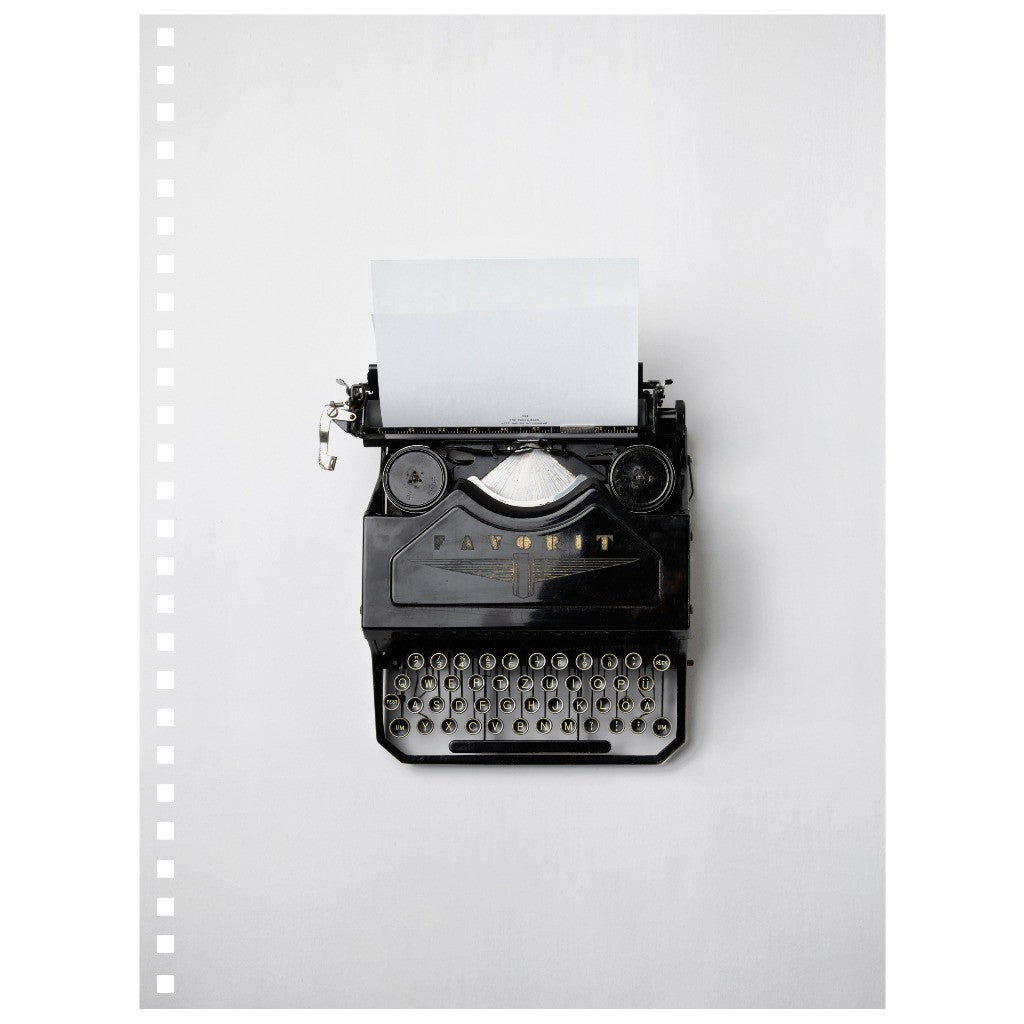 Notebook - Typewriter