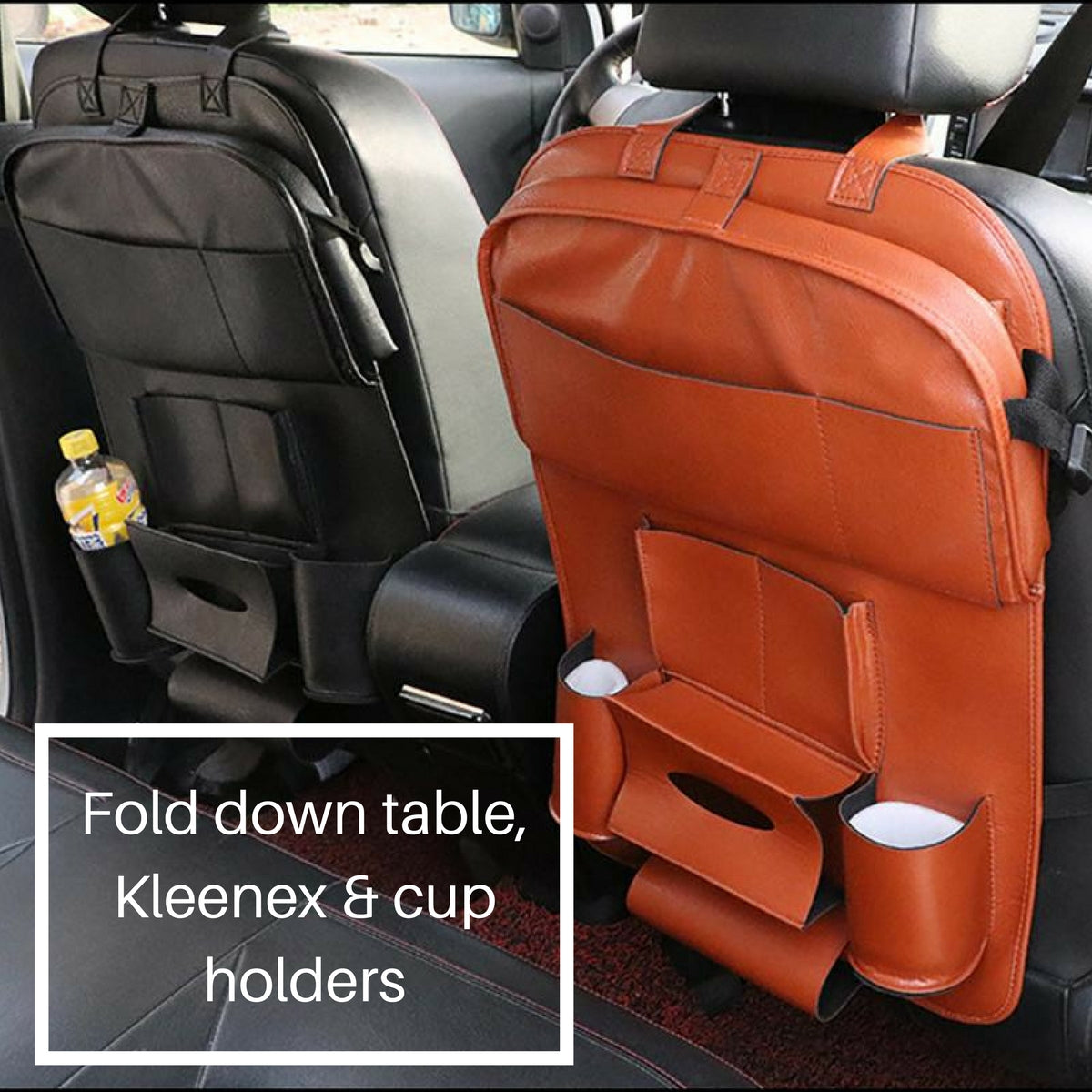 Back Seat Car Storage Organizer