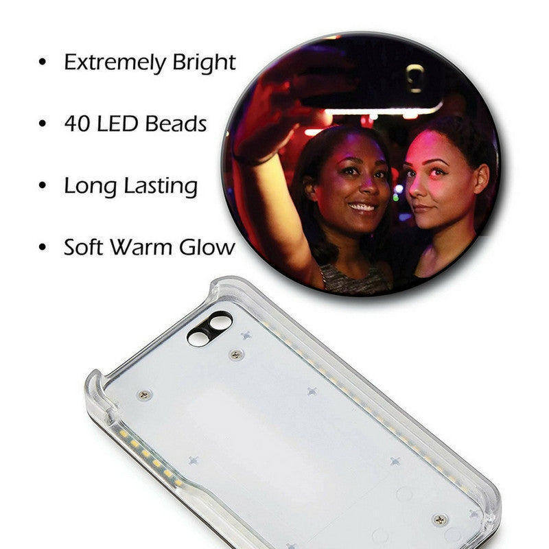 LED light-up phone case for iPhone 6/6S