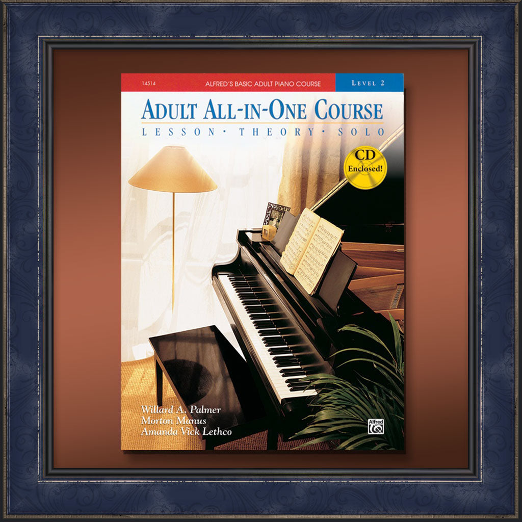 Piano Basic Adult All-in-One Course, Book 2