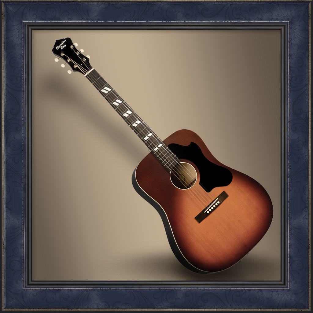 Guitar, Dirty 30's Series 7 Dreadnought