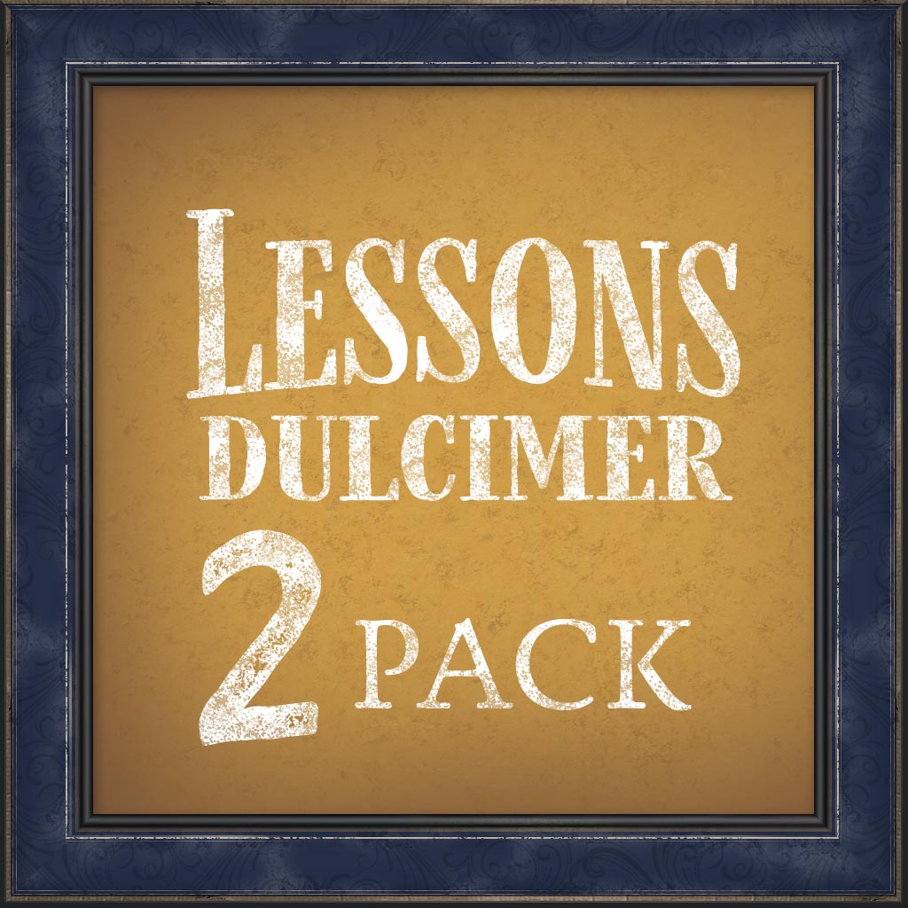 Lessons, Mountain Dulcimer, 2 Pack