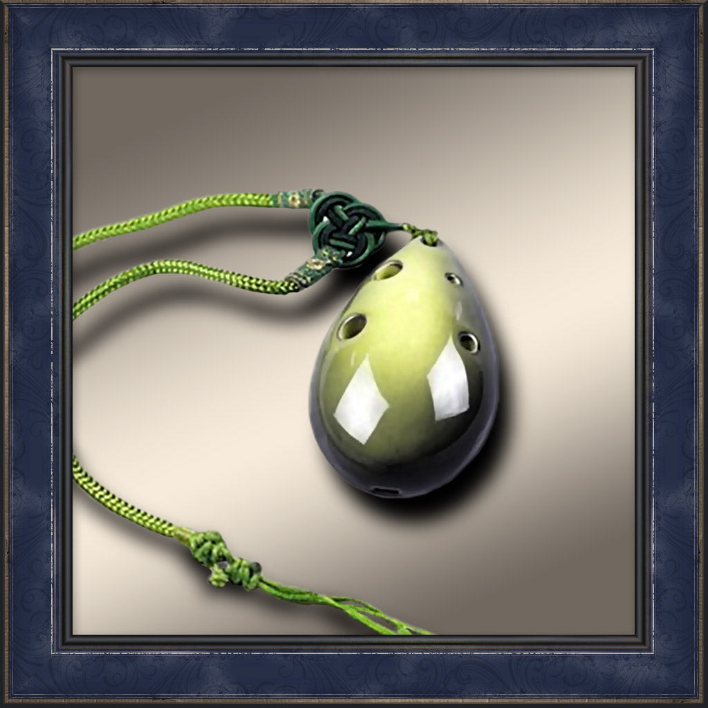 Ocarina Necklace - Green