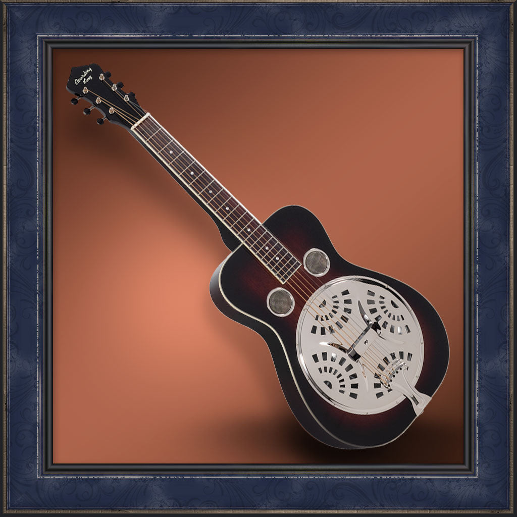 Resonator, Square Neck, Maxwell Series Recording King