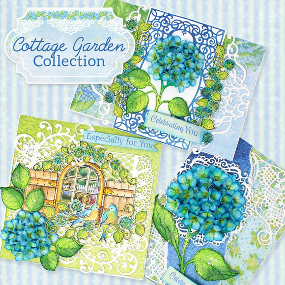 Heartfelt Creations - Cottage Garden Collection Jan 2020