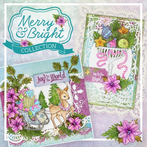 Heartfelt Creations - Merry & Bright August 2018