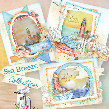Heartfelt Creations - Sea Breeze October 19