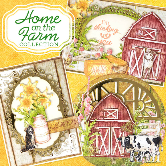 Heartfelt Creations - Home on the Farm Oct 20