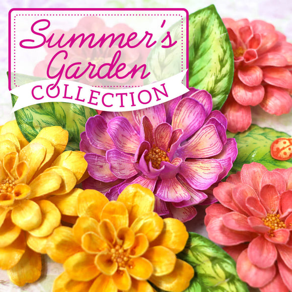 Heartfelt Creations - Summer's Garden September