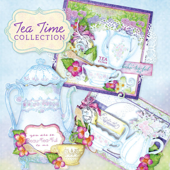 Heartfelt Creations - Tea Time Collection (Feb 2020)