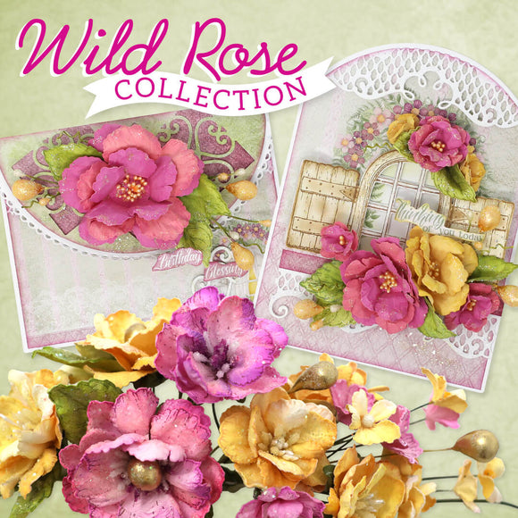 Heartfelt Creations - Wild Rose Collection March 2020