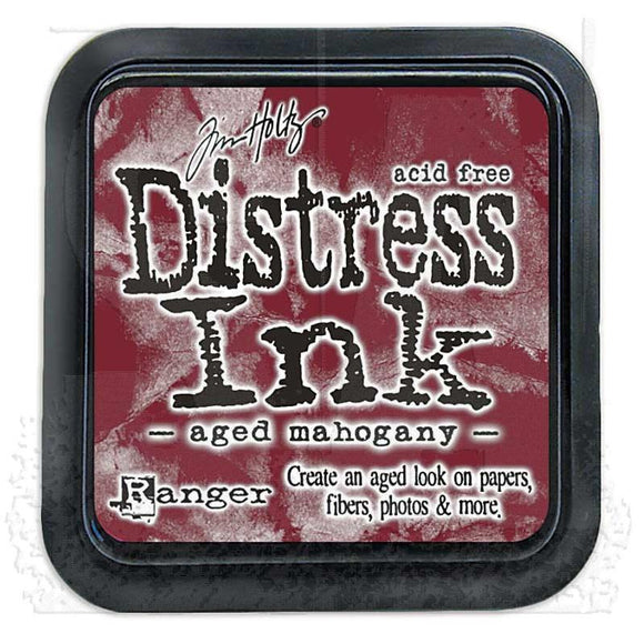 Ranger Distress Ink Pad- Aged Mahogany