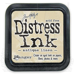 Ranger Distress Ink Pad- Antique Linen