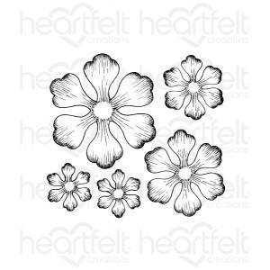hcpc-3608 - Arianna Blooms Cling Stamp Set