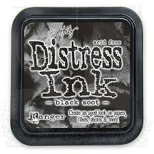 Ranger Distress Ink - Black Soot Mini