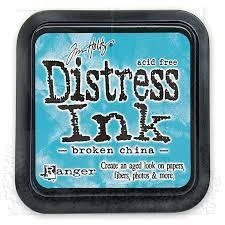 Ranger Distress Ink Pad-Broken China Mini