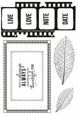 CS146 - Art of Life Clear Stamp