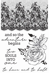 CS350 - Two Souls Clear Stamp
