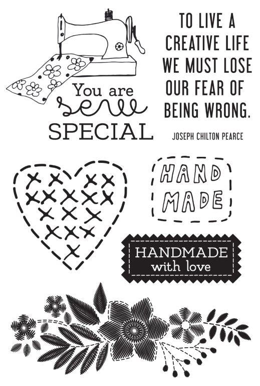 Kaisercraft : CS369 - Crafternoon Clear Stamp - Crafternoon Clear Stamp
