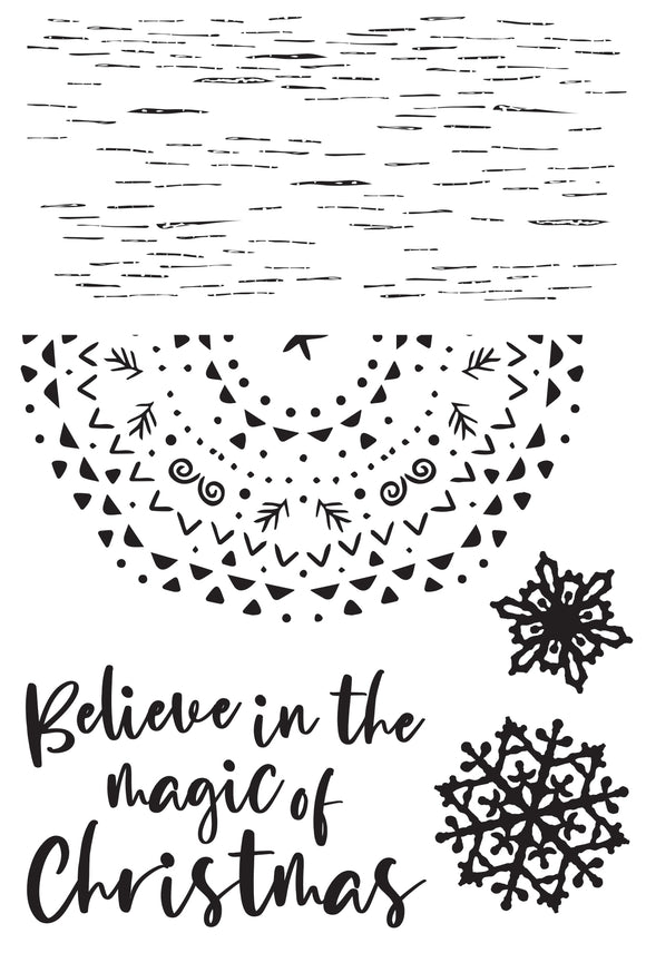 Kaisercraft : CS386 - Whimsy Wishes Clear Stamp