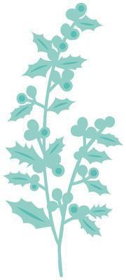 DD455 - Decorative Die - Holly Sprig